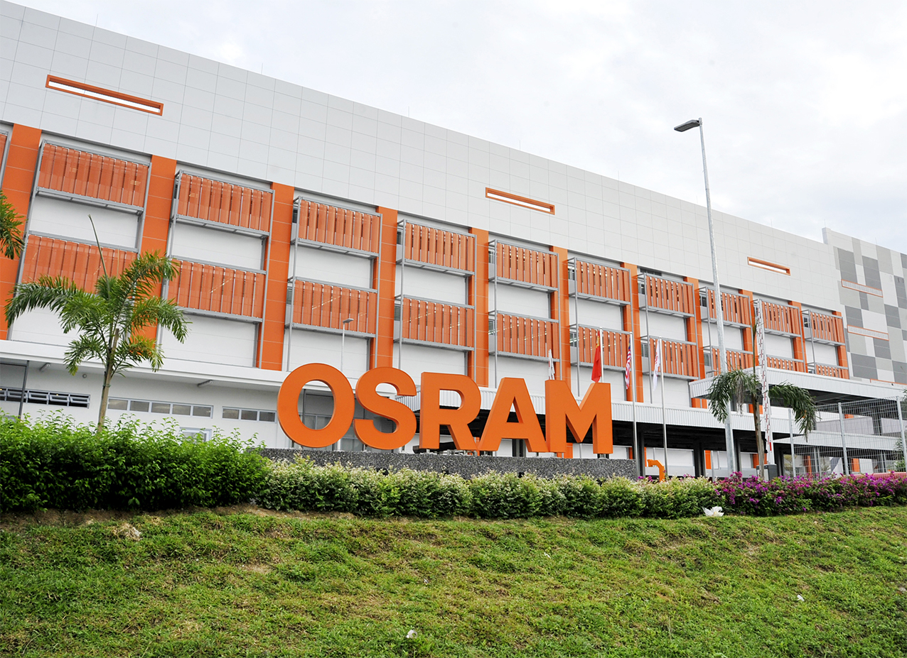 OSRAM Opto Semiconductors led chip plant opening in kulim made by prio Event Management