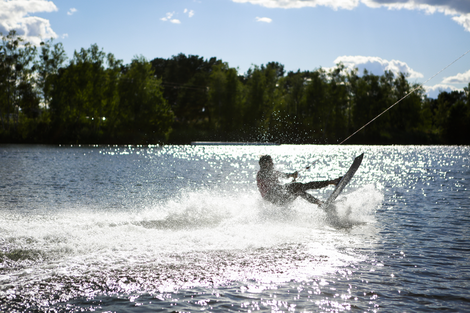 AVM Computersysteme Sommerfest 2018, Wake Boarder am Bersteinsee. Event made by prio Event Management