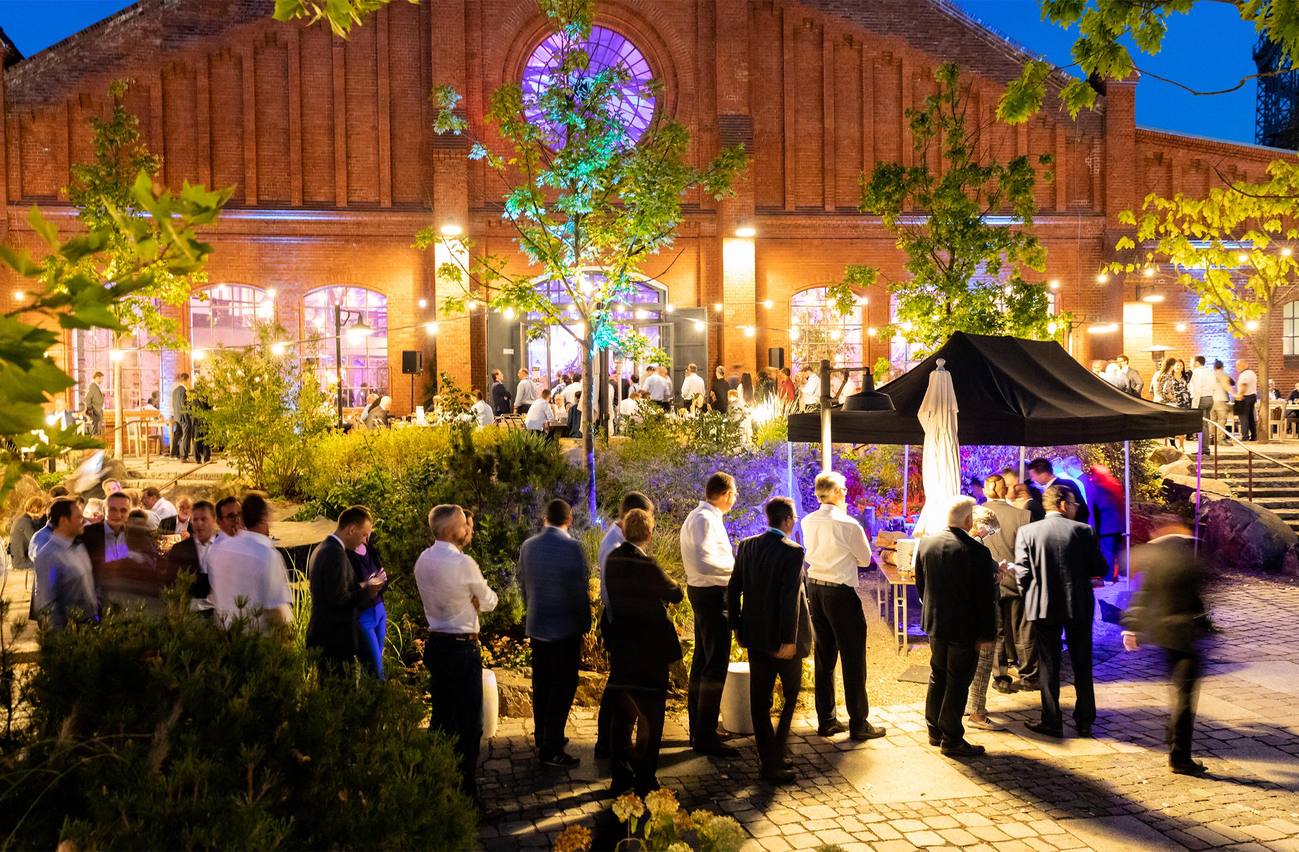 Siemens Mobility mit prio event management auf der Innotrans 2018 Vip Abendveranstaltung in der stone brewing berlin.
