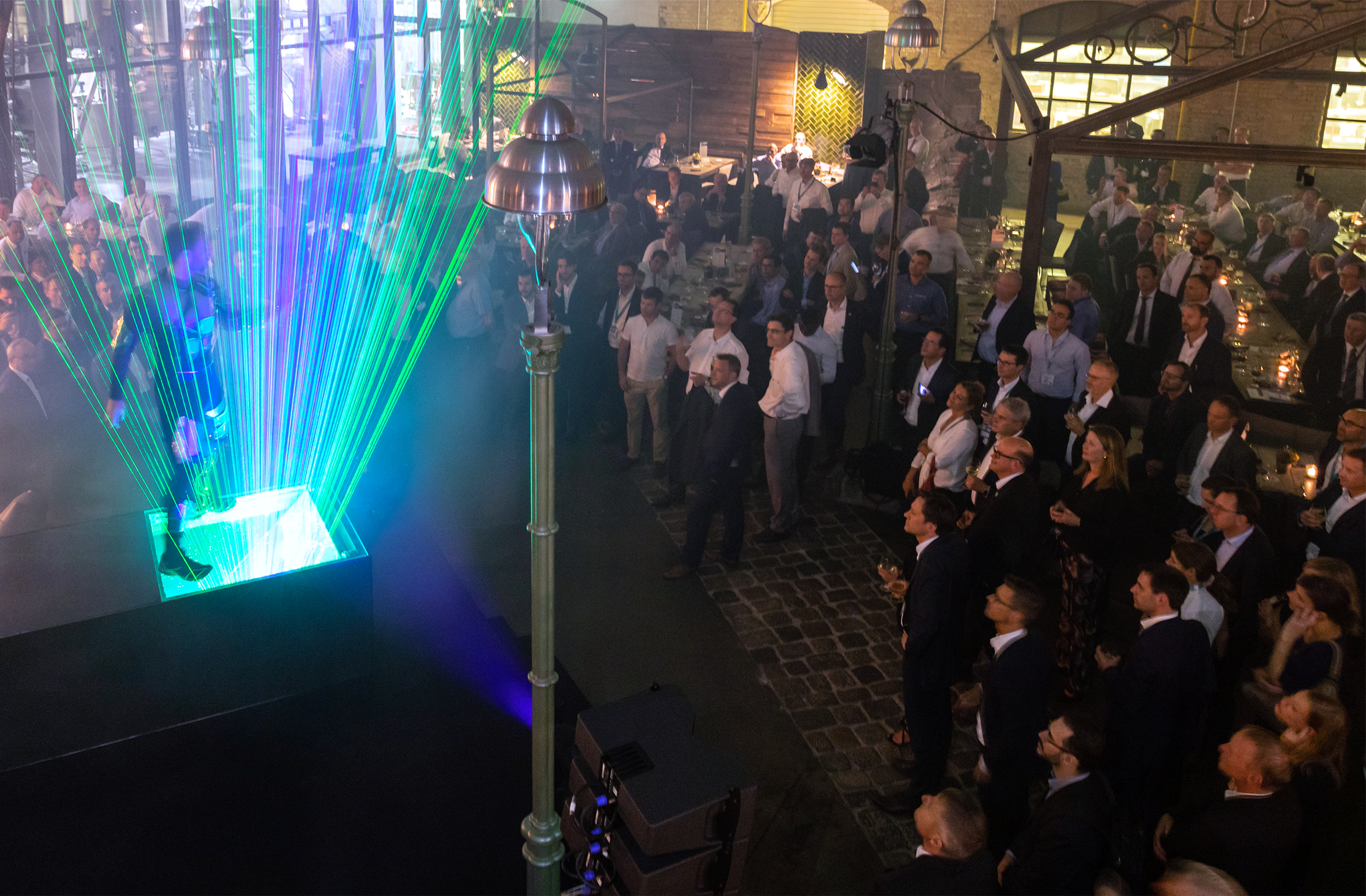 Siemens Mobility with prio event management at the Innotrans 2018 VIP evening event in the stone brewing berlin.